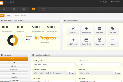 Track project budgets, project managers, start and due dates and much more.